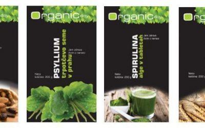 Organic day živila, superživila