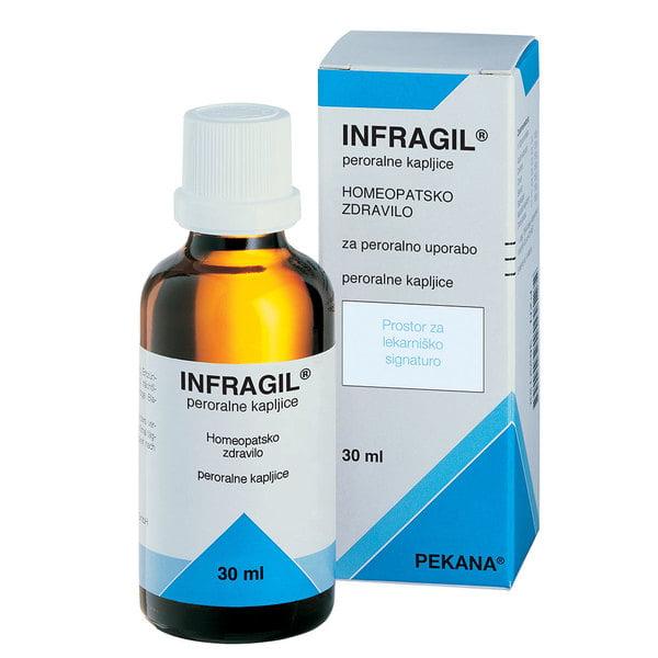 Pekana Infragil peroralne kapljice 30 ml