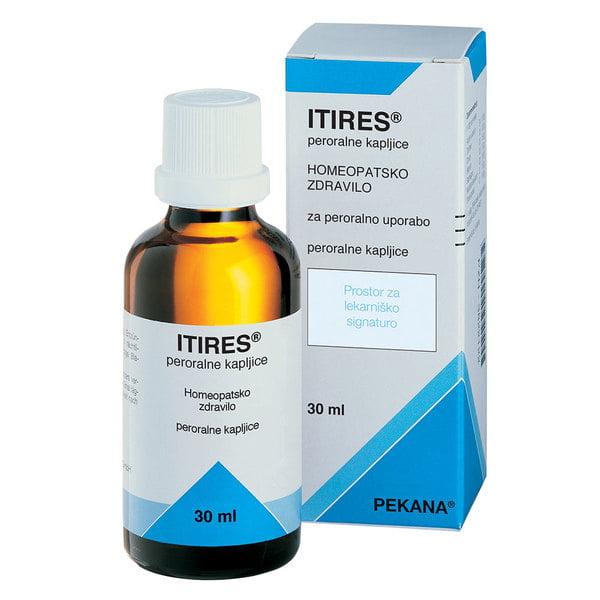 Pekana Itires peroralne kapljice 30 ml