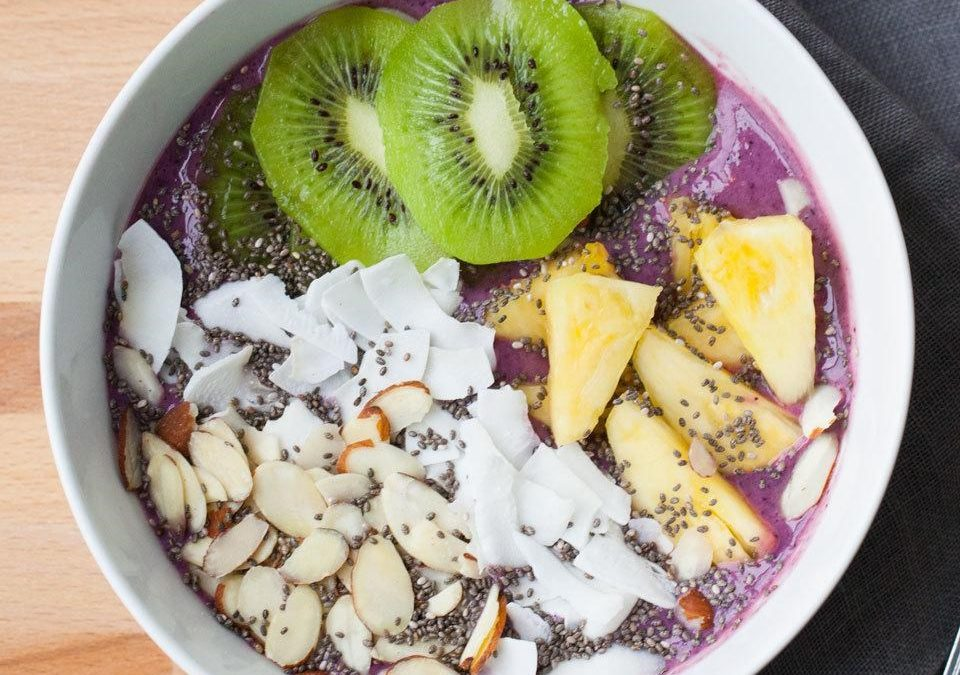 Sadni smuti za zajtrk
