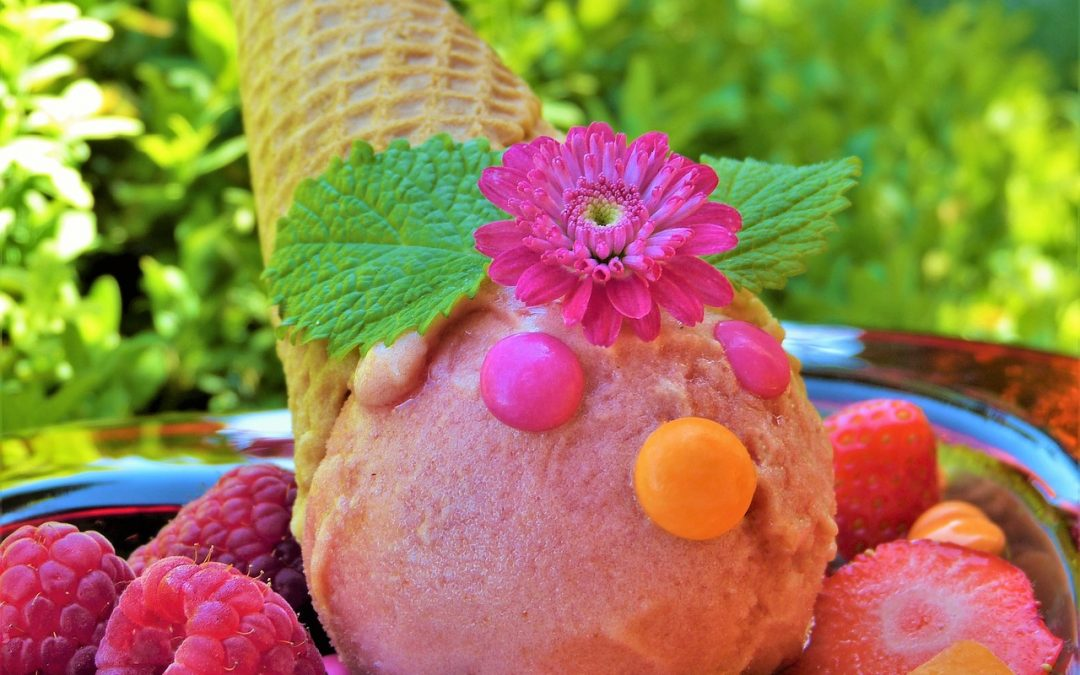 Kuhajmo BIO: Malinov sladoled